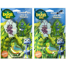 Damaged BUG'S LIFE CANDLE SETS (2) ~ Birthday Party Supplies Cake Decorations