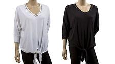 Rayon V Neck Regular Size Blouses for Women