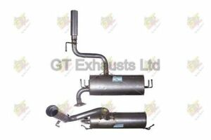 TOYOTA CELICA 1.8 ZZT230 99-06 EXHAUST REAR SILENCER BACK BOX 100% QUALITY UNIT