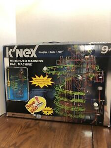 Knex Motorized Madness Ball Machine Building Set - Some Pieces Missing