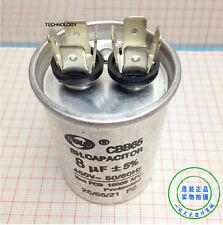 CBB65A-1 8uF 450VAC 50/60Hz Air Conditioner Motor Start Compressor Run Capacitor