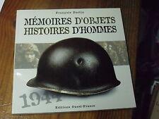 7µ? Revue Memoires d'Objets Histoires D'hommes F.Bertin