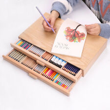 Wooden Drawer Storage Box Container For Art Drawing Painting Sketching Study