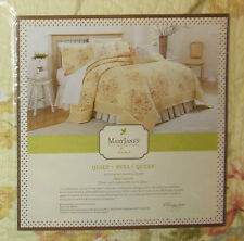 Mary Jane's Home, VINTAGE LACE 5 Piece Full/Queen Quilt Set, NIP, Retail $308.00