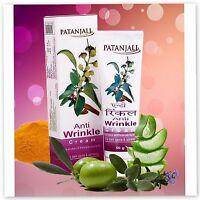 Patanjali Anti Wrinkle Cream For wrinkles & dark spots  50 gm