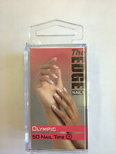 THE EDGE OLYMPIC 50 NAIL TIPS SIZE 9