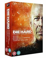 Die Hard: Legacy Collection (Films 1-5) Dvd Box Set New/Sealed