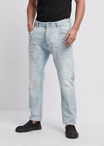 EMPORIO ARMANI Men`s Jeans Size 33 Loose Fit RRP: 255 EUR