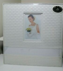 Our Engagement Photo Album Bridal Shower Gift Present 144 photos 18 pages Ivory
