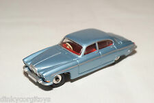 DINKY TOYS 142 JAGUAR MARK X METALLIC LIGHT BLUE EXCELLENT CONDITION