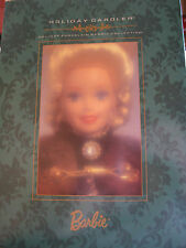 "BARBIE, ""HOLIDAY CAROLER"" 1996 PORCELAIN LIMITED EDITION SERIAL#44531"