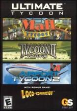 Ultimate Tycoon: Airline Tycoon 2, Railroad Tycoon II Platinum PC CD 4 games!