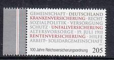 Germania/Germany 2011 Centenario associazioni sociali in Germania 2700 Mnh