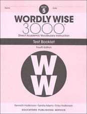 4Th Edition Wordly Wise 3000 Grade 5 Tests