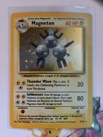 Magneton | Holo | Excellent | Base Set Unlimited 9/102 | Pokemon | English