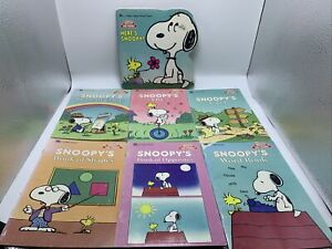Snoopy and Friends Lot of 7 books - Educational -  Peanuts Charlie Brown