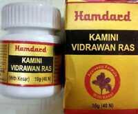 Unani Hamdard Kamini Vidravan Ras (40 Tabs) Free Shipping