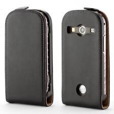 Samsung Galaxy Xcover 2 S7710 handy tasche schwarz flip case schutz hülle cover