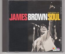 JAMES BROWN - GODFATHER OF SOUL -KARUSSELL 1993 MINT CD SEX MACHINE, PAPA'S GOT