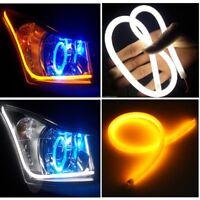 2x 60cm Led Auto Sequenziale Neon Striscia Flessibile Freccia Luminosa Tubo