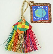 Planet Pleasures, Bird Brush Mini Bird Toy Parrot Toy. by Fowl Play