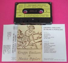 MC GRUPPO EMILIANO DI MUSICA POPOLARE italy LISCIO GE 003 no cd lp dvd vhs