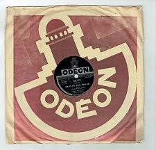 78T Tony MURENA Disque Phono BAIO DE SAO-PAULO Quintette Accordéon ODEON 282970
