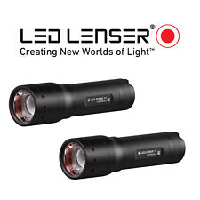 LED Lenser P7 TWIN PACK TORCH FLASHLIGHT 2018 Edition 450 Lumens Gift Boxes