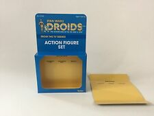 cutom vintage star wars droids 3-pack box and inserts