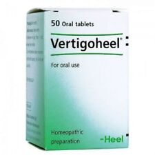 Vertigoheel 50tabs Homeopathic- Dizziness / Vertigo / Nausea Motion Sickness