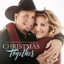 GARTH BROOKS & TRISHA YEARWOOD CD - CHRISTMAS TOGETHER (2016) - NEW UNOPENED