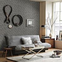 Natural Brick Self-adhesive Wallpaper DIY Wall Sticker Decal Panels Waterproof