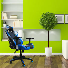 New High Back Racing Gaming Chair Bucket Seat Office Computer Desk Chair