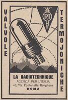 1960´S TUBE NOS // NIB H112 5676 TUBE CRYOTREATED LA RADIOTECHNIQUE 5676 RT