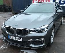 BMW G 11 12 CARBONE PERFORMANCE Bague pour AVANT M Déflecteur PARE-CHOC jupe