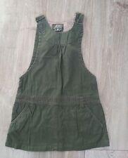 Salopette jupe vert  kaki  CFK  5 ans