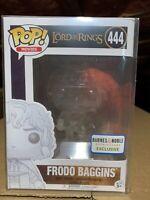 Funko Pop! Frodo Baggins Invisible Barnes & Noble *Vaulted *NEW *Protector LOTR