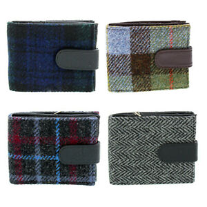 Glen Appin Harris Tweed Wallet With Coin Compartment LB2105 Barra