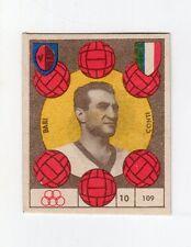 figurina CALCIO VAV 1959/60 NUMERO 109 BARI CONTI