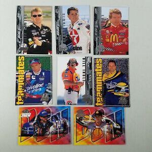 1998 Press Pass Tony Stewart Rookie Card Nascar Cards Lot of 8 List Below