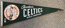 Vintage 1969 Boston Celtics World Champions Pennant NBA Full Size W/Tip Issues