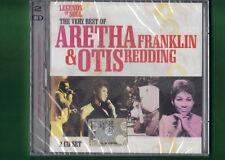 ARETHA FRANKLIN & OTIS REDDING THE VERY BEST OF DOPPIO CD NUOVO SIGILLATO