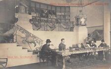 2730) VENEZIA 1908 ESPOSIZIONE INTERNAZIONALE D'ARTE SALA DEL GIORNALE.