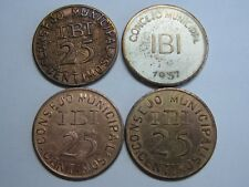 IBI 1937 CONSEJO MUNICIPAL SERIE 4 VALORES CIVIL WAR SPAIN SPANISH