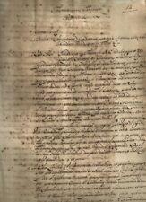 Fiorentina Pecuniaria Sentenza sulla Causa del Canonico Morebovio 1717