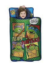 Teenage Mutant Ninja Turtles Toddler Nap Mat With Attached Blanket and Pillow!!