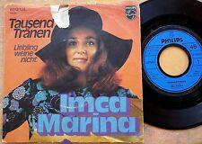 GERMAN POP picture sleeve 45: IMCA MARINA Tausend Trãnen/Liebling Weine Nicht