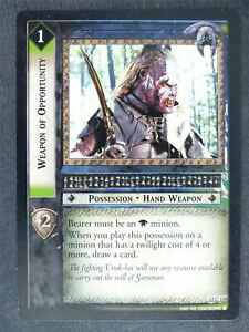 Weapon of Opportunity 12 C 159 - played - LotR Cards #LB