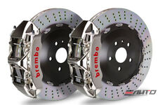 Brembo Front GT Big Brake Kit BBK 6 piston GT-R 380x34 Drill A6 3.0 4.2 C6 05-11