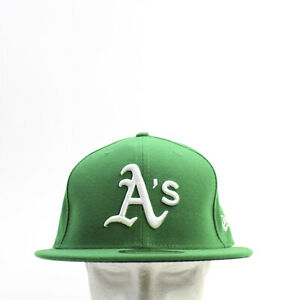 Oakland Athletics New Era Fitted Hat Unisex Green New with Tags
